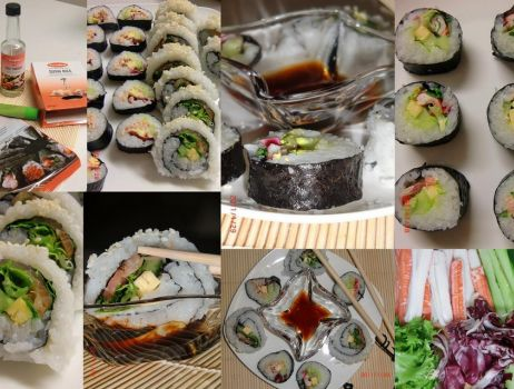 California roll i Sushi maki