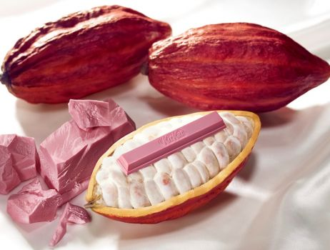 Różowy KitKat Chocolatory Sublime Ruby