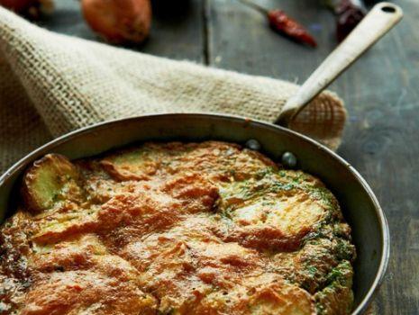 Przepis: Omlet z ziemniakami – czyli tortilla de patatas