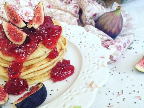 Przepis: Słodkie śniadanie mistrzów - pancakes !