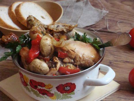 Przepis: Kurczak z warzywkami