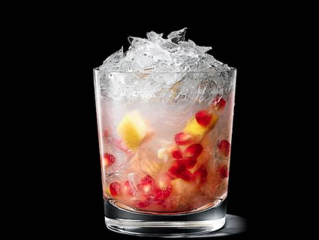 Przepis: Pommegranate and Grapefruit Smash