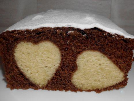 Przepis: Ciasto Walentynkowe