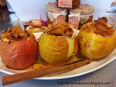 Przepis: Wykwintne pieczone jabłka