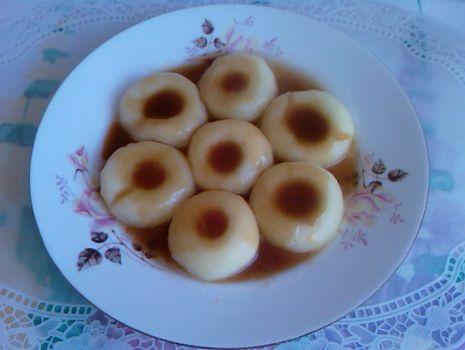 Przepis: Kluski śląskie z sosem pieczeniowym