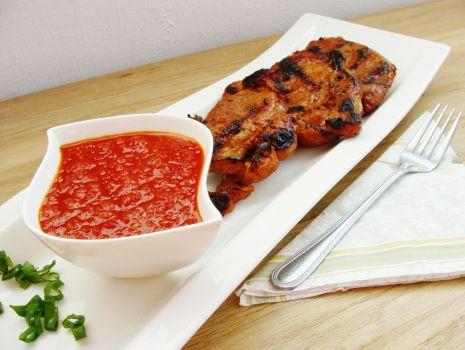 Przepis: Stek z karkówki z sosem słodko-kwaśnym