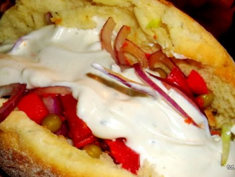 Przepis: Kebab w chlebku pita