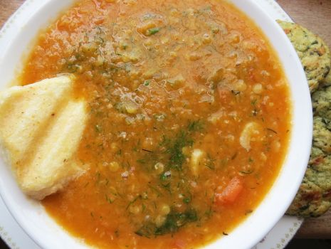 Przepis: Zupa z soczewicy i świeżych pomidorów
