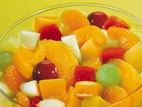 Przepis: Sałatka owocowa