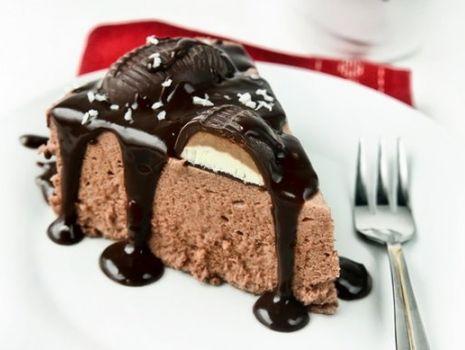 Przepis: Sernik na zimno czekoladowo-kokosowy