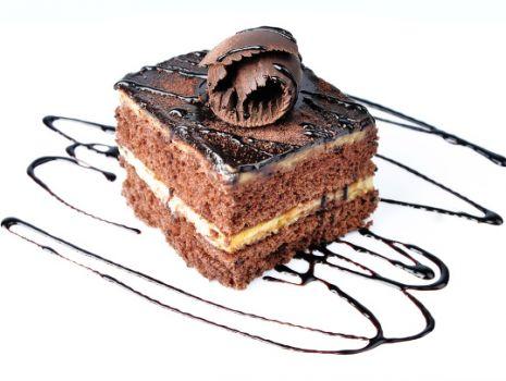 Przepis: Ciasto czekoladowe z michałkami