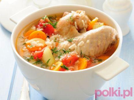 Przepis: Zupa pomidorowa z ryżem