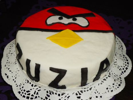 Przepis: Tort Angry Birds