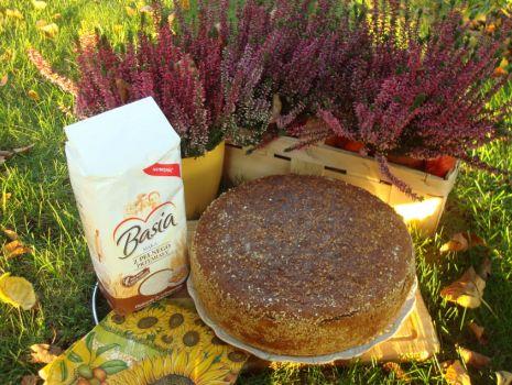 Przepis: Chleb pełnoziarnisty pszenny z otrębami żytnimi