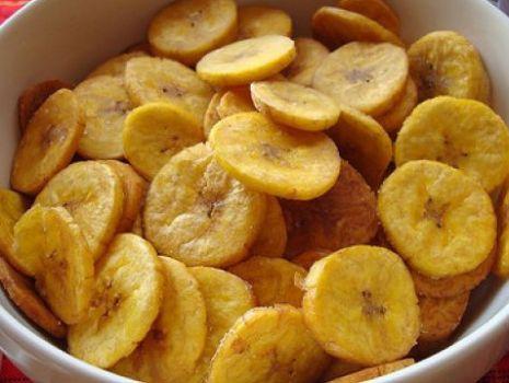 Przepis: Czipsy bananowe
