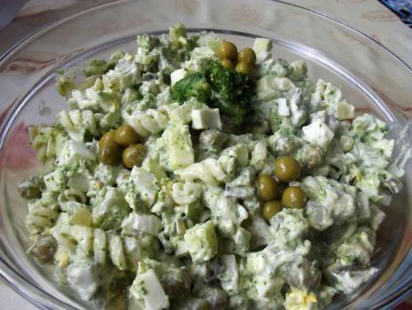 Przepis: Zielona sałatka