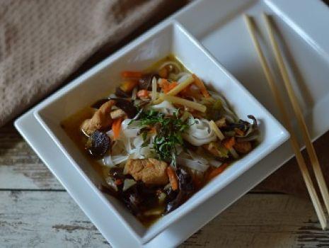 Przepis: Zupa chińska