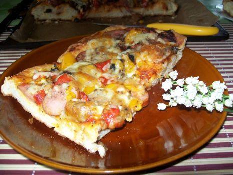 Przepis: MEGA PIZZA