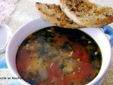 Przepis: Pikantna zupa z kurczaka