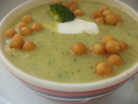 Przepis: Zupa krem brokułowa