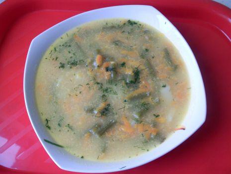 Przepis: Zupa fasolkowa