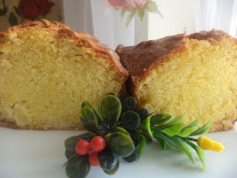 Przepis: Babka ananasowo- pomarańczowa