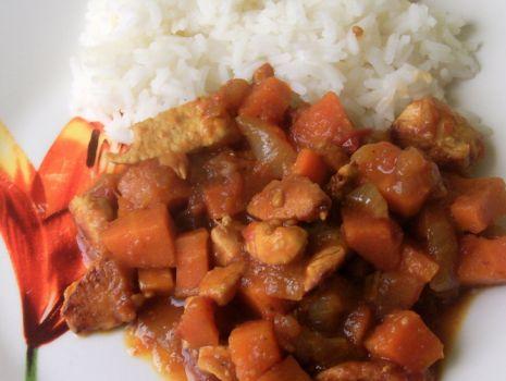 Przepis: Curry z marchewką
