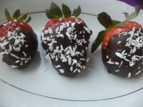 Przepis: Truskawki w czekoladzie