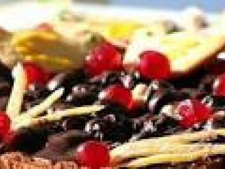 Przepis: Mazurek wiśniowy