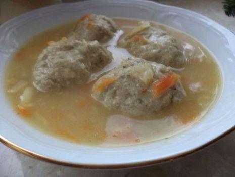 Przepis: Zupa jarzynowa z pulpecikami