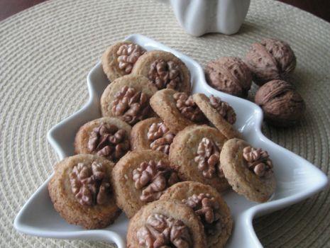 Przepis: ciasteczka orzechowe