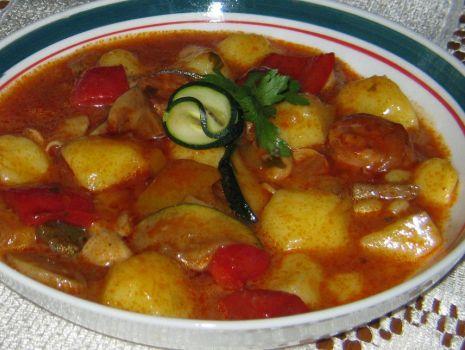 Przepis: Gęsta zupka z ziemniakami