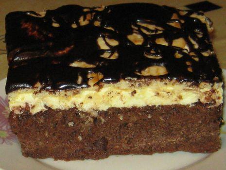 Przepis: Ciasto z kremem i krakersami