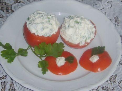 Przepis: Faszerowane pomidory