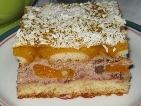 Przepis: Ciasto z pomarańczem
