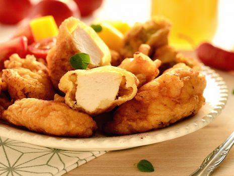 Przepis: Filety z kurczaka w cieście piwnym