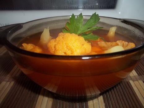 Przepis: Pomidorowa kalafiorowa