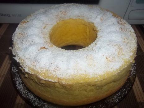 Przepis: Ciasto migdałowo-cytrynowe