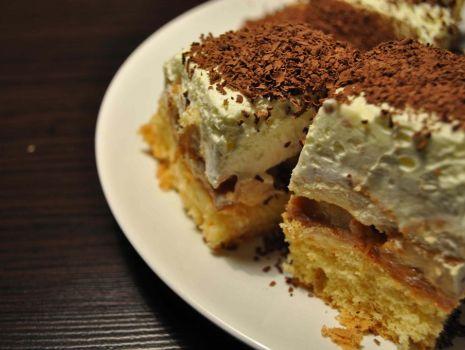 "Przepis: Ciasto ""Krówka"""
