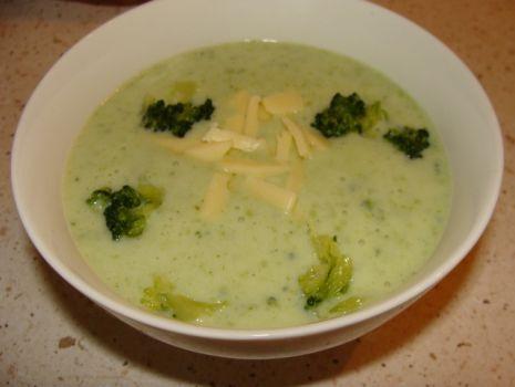 Przepis: Zupa brokułowa na mleku