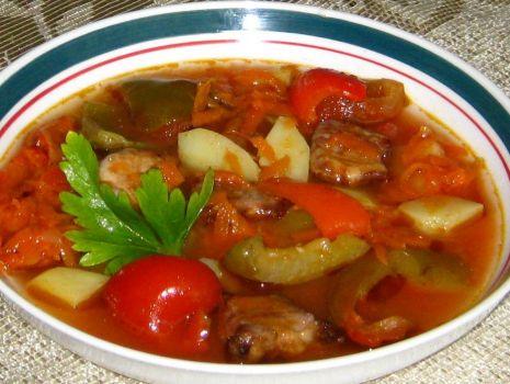 Przepis: Paprykowa zupa