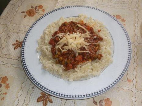 Przepis: Spaghetti po napoleotańsku