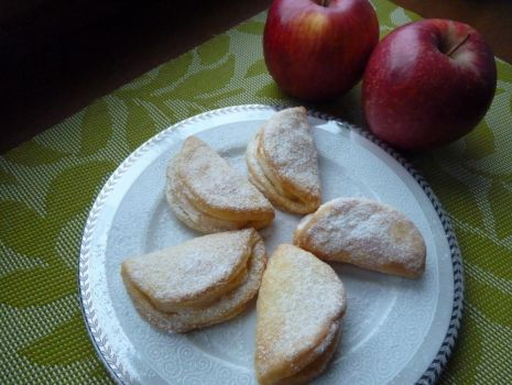 Przepis: Ciastka z jabłkami