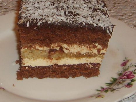 Przepis: Ciasto kakaowe z kremem