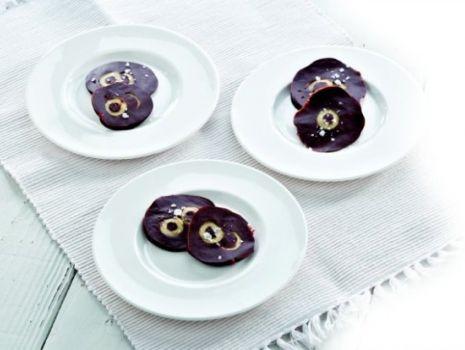 Przepis: Magiczne czekoladowe krążki  z hiszpańskimi oliwkami