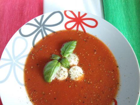 Przepis: Krem pomidorowy