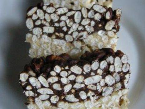 Przepis: Blok czekoladowy z ryżem