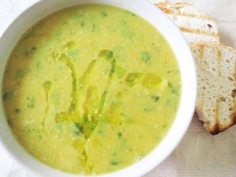 Przepis: Zupa z dyni  i soczewicy czerwonej