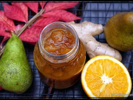 Przepis: Konfitura gruszkowo-pomarańczowa