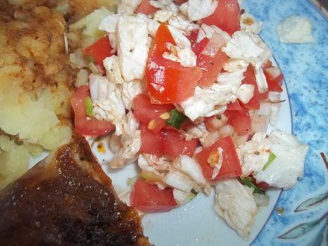 Przepis: Surówka kapuściano-pomidorowa